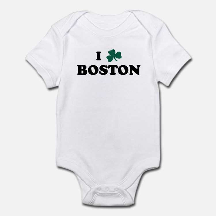 I Shamrock BOSTON Infant Bodysuit