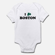 I Shamrock BOSTON Onesie