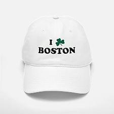 I Shamrock BOSTON Baseball Baseball Cap