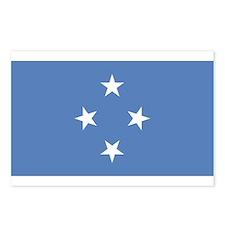 FSM flag Postcards (Package of 8)