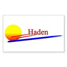 Haden Rectangle Decal