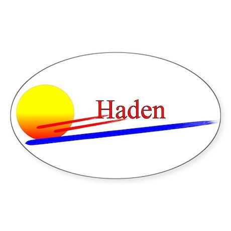 Haden Oval Sticker