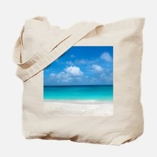 Tropical Beach View Cap Juluca Anguilla Tote Bag