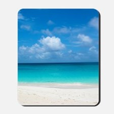 Tropical Beach View Cap Juluca Anguilla Mousepad