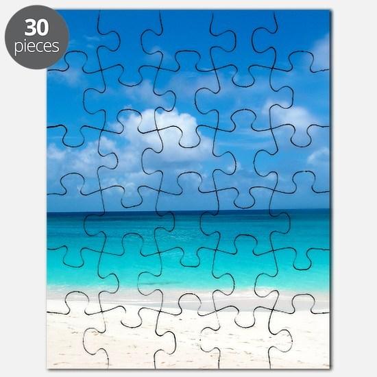 Tropical Beach View Cap Juluca Anguilla Puzzle