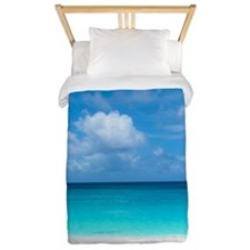 Tropical Beach View Cap Juluca Anguilla Twin Duvet