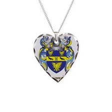 Harper Coat of Arms (Family C Necklace Heart Charm