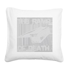 Ramp Clear Square Canvas Pillow