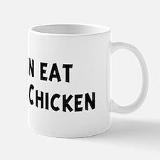Men eat Kung Pao Chicken Mug