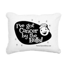 Ive Got Cancer By The Ba Rectangular Canvas Pillow