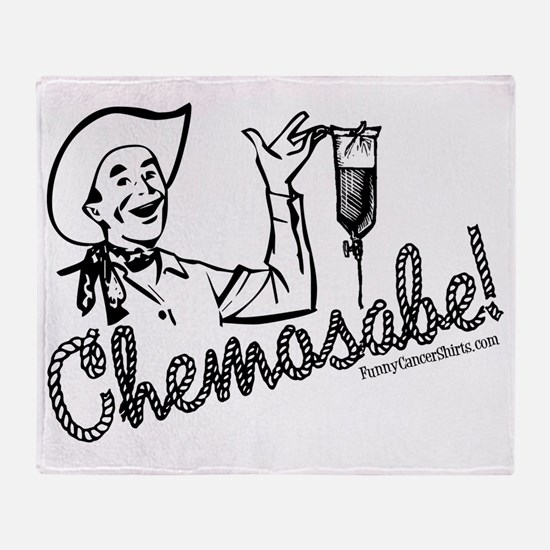 Chemosabe! Throw Blanket