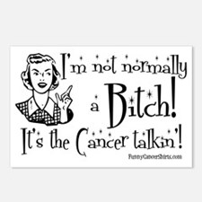 Im Not Normally A Bitch,  Postcards (Package of 8)