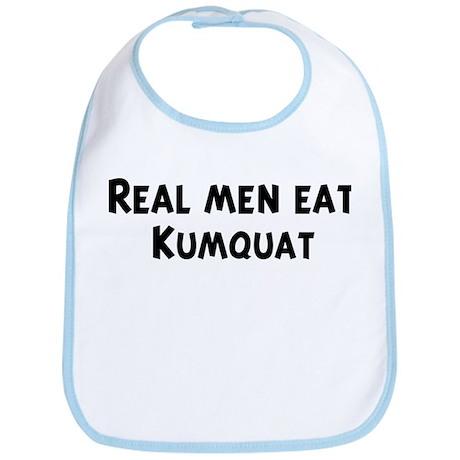 Men eat Kumquat Bib