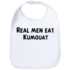 Men eat Kumquat Bib