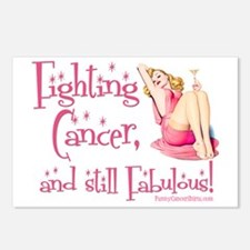 Fighting Cancer and still Postcards (Package of 8)