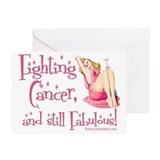 Breast cancer Greeting Cards