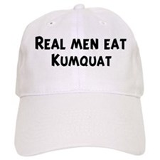 Men eat Kumquat Baseball Cap