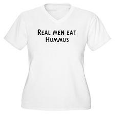 Men eat Hummus T-Shirt