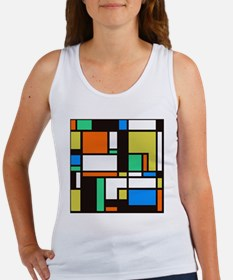Mondrian 3 Women's Tank Top
