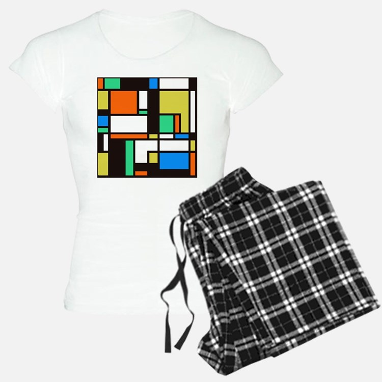Mondrian 3 Pajamas