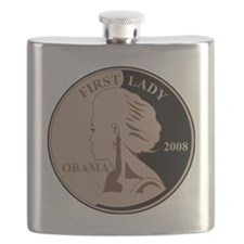 First Lady Coin,  Flask