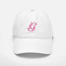 G Initial Baseball Baseball Cap