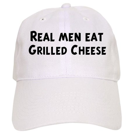 Men eat Grilled Cheese Cap