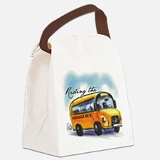 Riding the Struggle Bus Canvas Lunch Bag