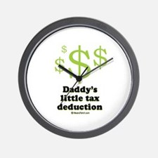 Daddy's little tax deduction / Baby Humor Wall Clo