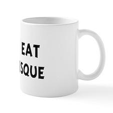 Men eat Lobster Bisque Mug