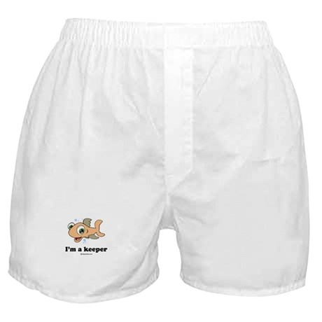 I'm a keeper / Baby Humor Boxer Shorts