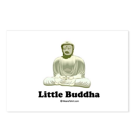 Little Buddha / Baby Humor Postcards (Package of 8