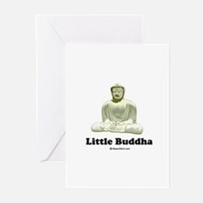 Little Buddha / Baby Humor Greeting Cards (Package