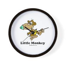 Little Monkey / Baby Humor Wall Clock