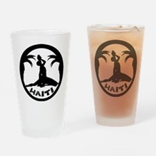 N Marron white Drinking Glass