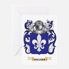 Hauser Coat of Arms (Family Crest) Greeting Card