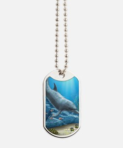 The World Of The Dolphin Dog Tags