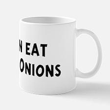 Men eat Liver And Onions Mug