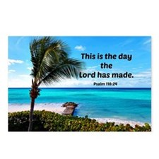 Psalm 118:24, This is the Postcards (Package of 8)