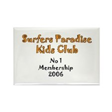 Surfer paradise Rectangle Magnet