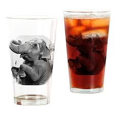Cora BW Drinking Glass