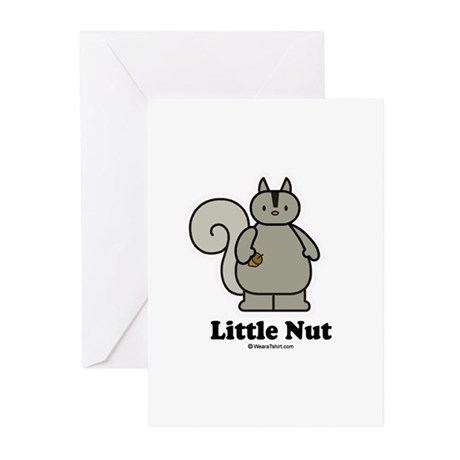 Little Nut / Baby Humor Greeting Cards (Package of