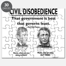 Civil Disobedience Puzzle