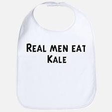 Men eat Kale Bib