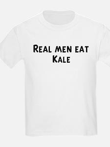 Men eat Kale T-Shirt