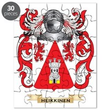 Heikkinen Coat of Arms (Family Crest) Puzzle