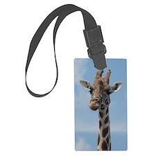 giraffe color2 Luggage Tag