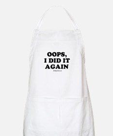 Oops, I did it again / Maternity BBQ Apron