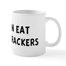 Men eat Graham Crackers Mug