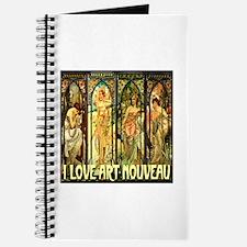 I Love Art Nouveau Journal